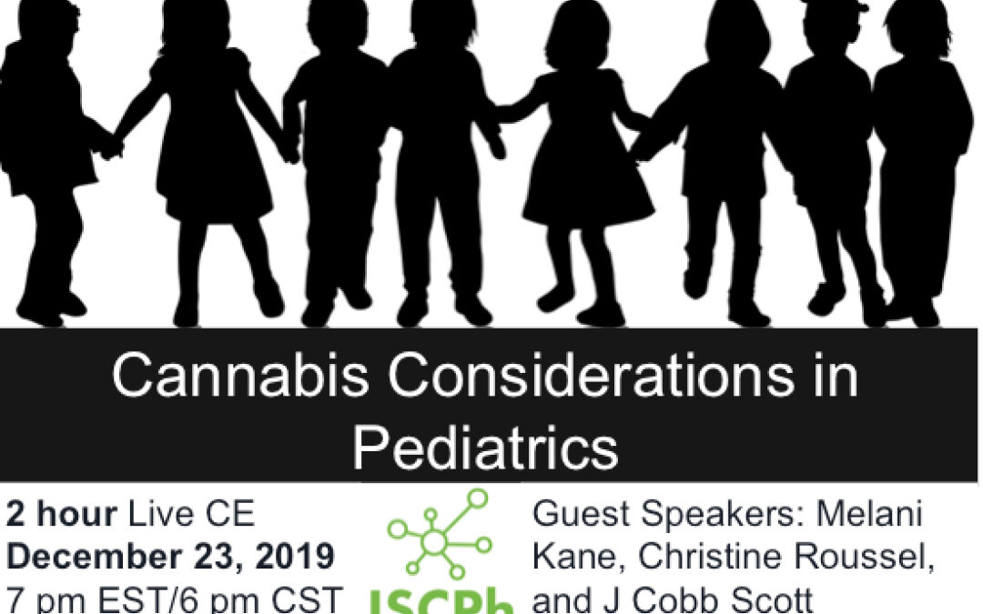 CE: Cannabis Considerations in Pediatrics