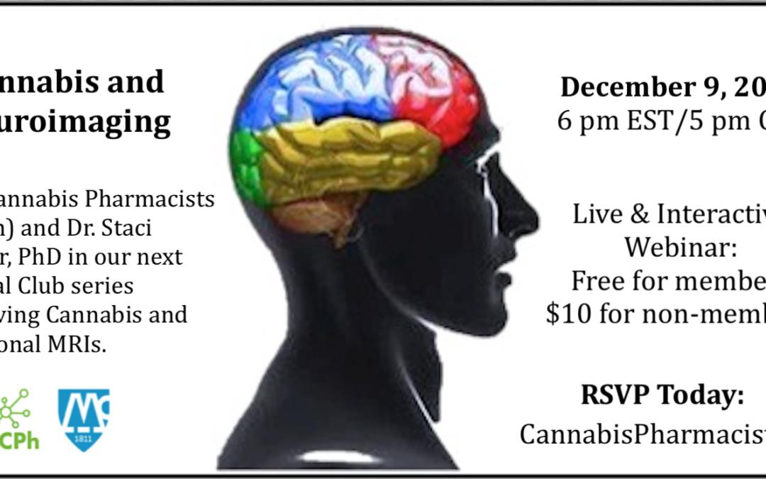 Journal Club #9: Cannabis and Neuroimaging